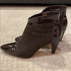Franco Sarto, Stunning leather ankle booties!